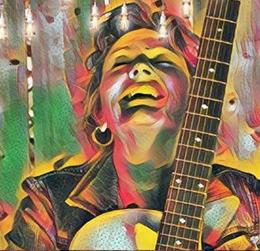 Teri Wood Singer Songwriter Original Rock Country and Blues