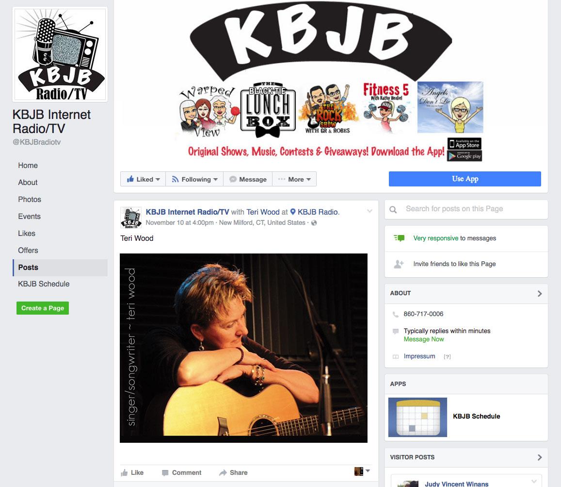 KBJB Radio featuring recording artist Teri Wood