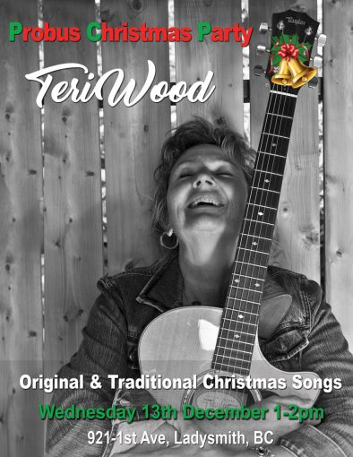 Eagles Hall Probus Christmas Party featuring Nominated Recording Teri Wood