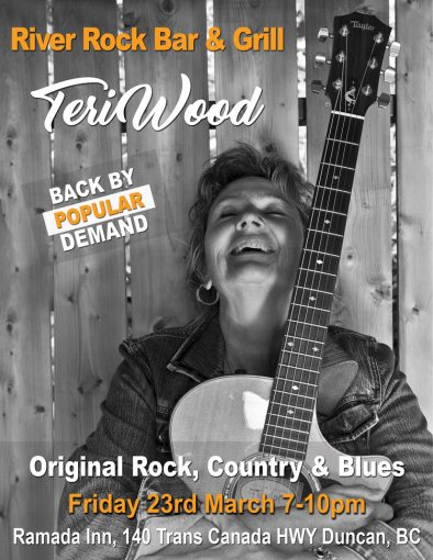 Ramada Inn River Rock Bar and Grill featuring Nominated Recording Artist Teri Wood
